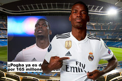 Real họp khẩn, mua Pogba giá 165 triệu euro
