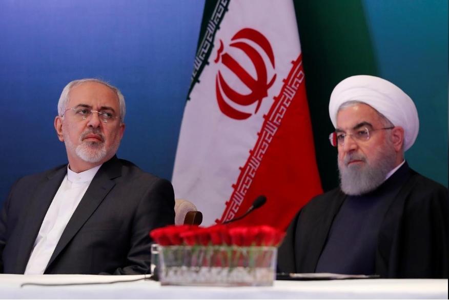 Iran,Mỹ,Tổng thống,Donald Trump,Hassan Rouhani,Javad Zarif,trừng phạt,Bộ trưởng,ngoại giao