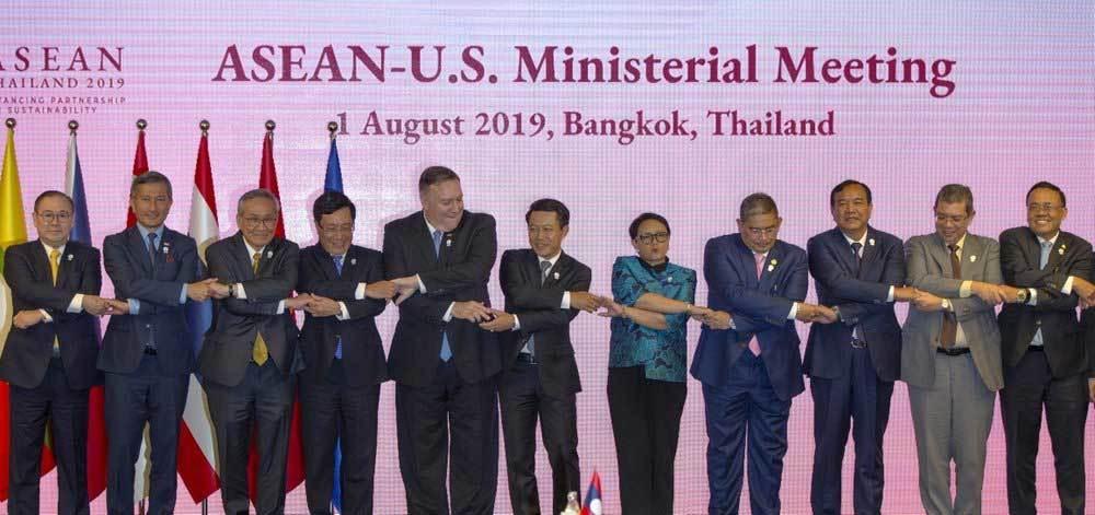 Ngoại trưởng Mỹ,châu Á,Trung Quốc,ASEAN,Mỹ