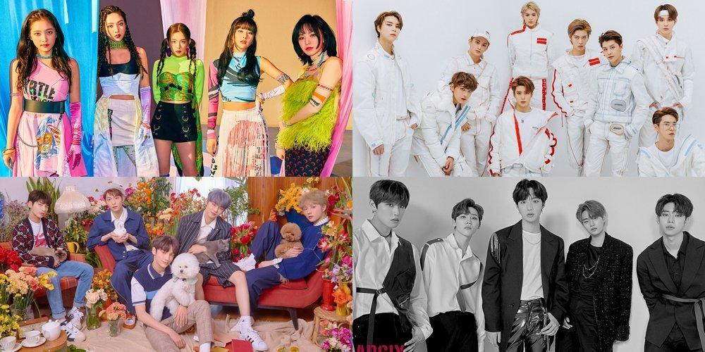 Sao Hàn,BTS,TWICE,Choiza,Sulli,AB6IX,Kangta