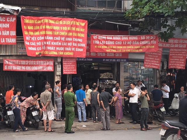 vi phạm xây dựng,trật tự xây dựng,tranh chấp đất đai,sổ đỏ,Hà Nội