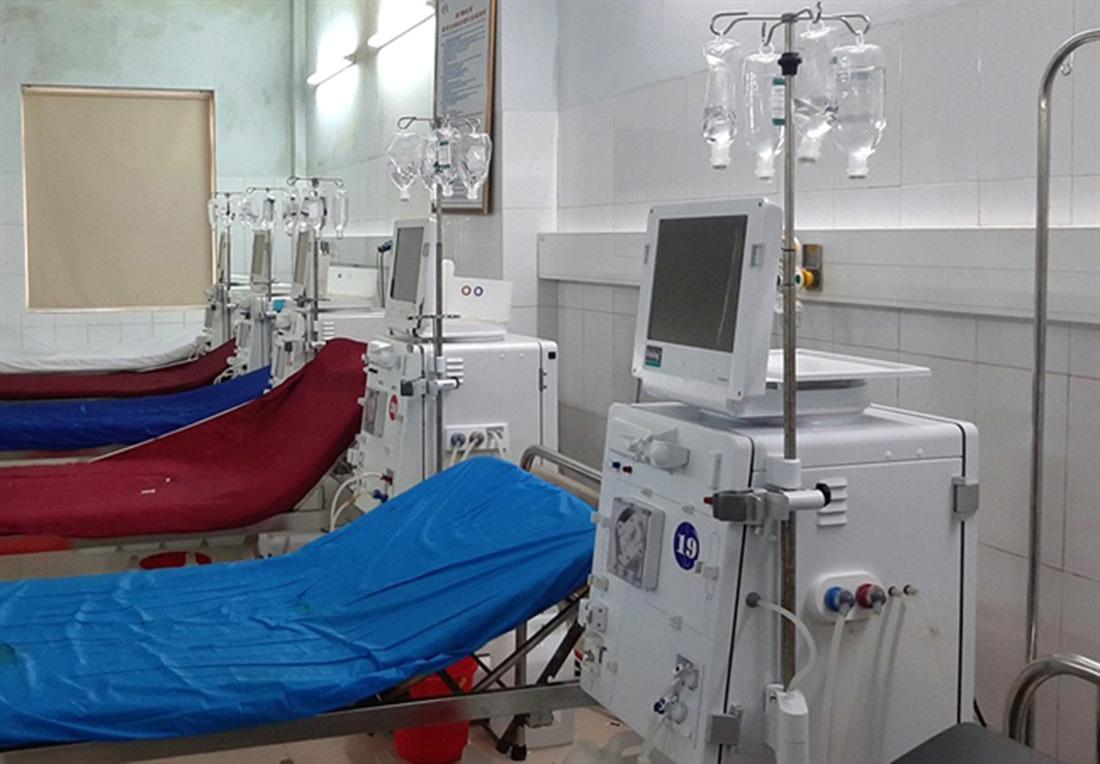 Sự cố chạy thận ở Nghệ An nhiễm khuẩn do điểm chết ống nước