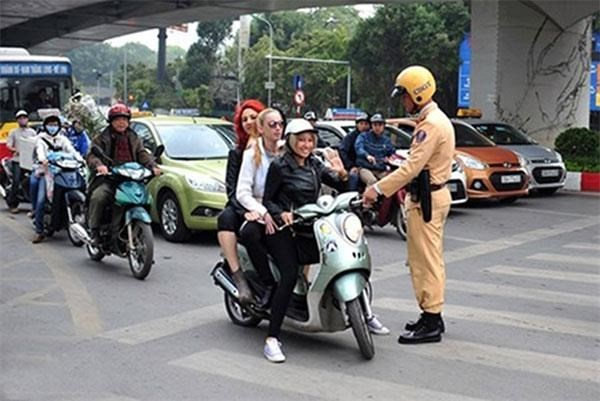 HCM City's campaign target foreigners violating traffic rules