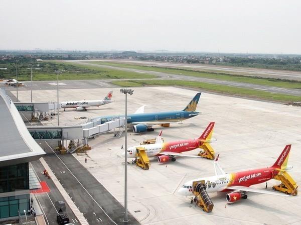 Airports in Hai Phong, Quang Ninh closed due to storm Wipha