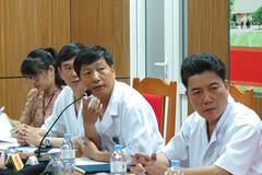 Họp báo thông tin mới sự cố sốc chạy thận ở Nghệ An