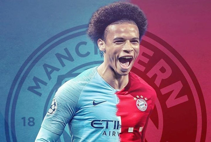 Leroy Sane,Man City,Bayern Munich