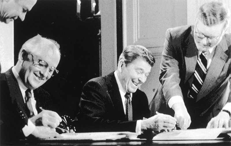 Nga,Mỹ,Mikhail Gorbachev,Hiệp ước INF