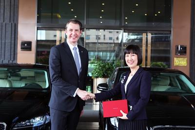 Jaguar Việt Nam bàn giao lô xe cho khách sạn InterContinental Hanoi Landmark72