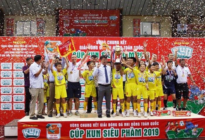 SLNA lần thứ 3 liên tiếp vô địch U11 quốc gia