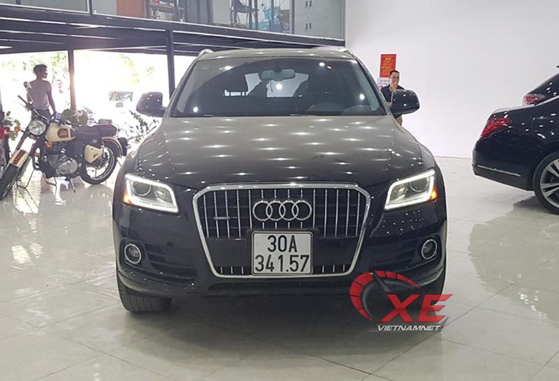 Mua xe Audi Q5 cũ hơn 1 tỷ, lo ngay ngáy nghi xe tai nạn