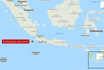 Động đất rung chuyển bờ biển, Indonesia cảnh báo sóng thần