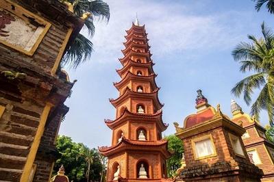 Báo nước ngoài chọn Trấn Quốc là ngôi chùa đẹp hàng đầu thế giới