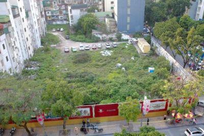 Nhan nhản dự án 'ôm' đất vàng rồi bỏ hoang: Hà Nội tiếp tục rà soát, thu hồi