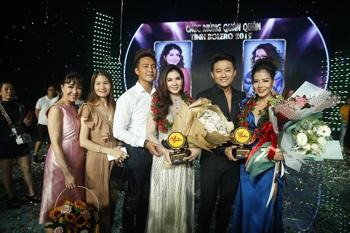 Kha Ly và Phạm Phương lên ngôi quán quân 'Tình Boléro' 2019