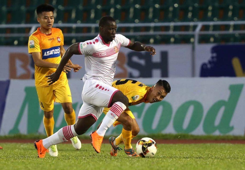 V-League,trực tiếp V-League,Hải Phòng vs Sài Gòn,Quảng Nam vs Thanh Hóa