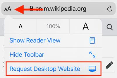Cách bật chế độ máy tính khi duyệt web bằng Safari trên iOS 13