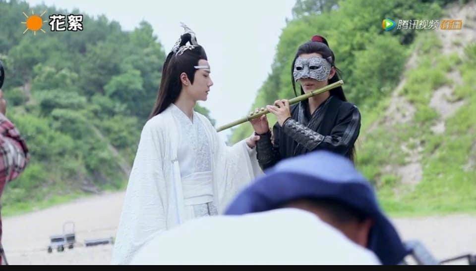 Hậu trường hài hước trong các phim cổ trang Hoa ngữ đình đám