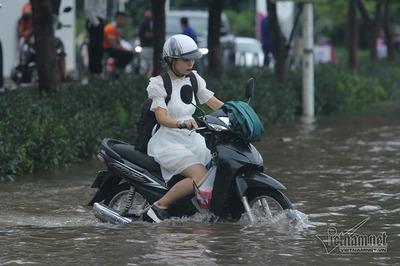 Thời tiết tuần tới, Bắc Bộ mưa rất to, Trung Bộ lũ quét hoành hành