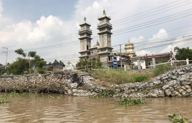 An Giang province declares emergency state of erosion