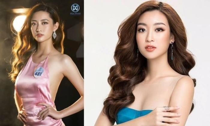 Ngỡ ngàng sự giống nhau của Hoa hậu Lương Thùy Linh và Đỗ Mỹ Linh