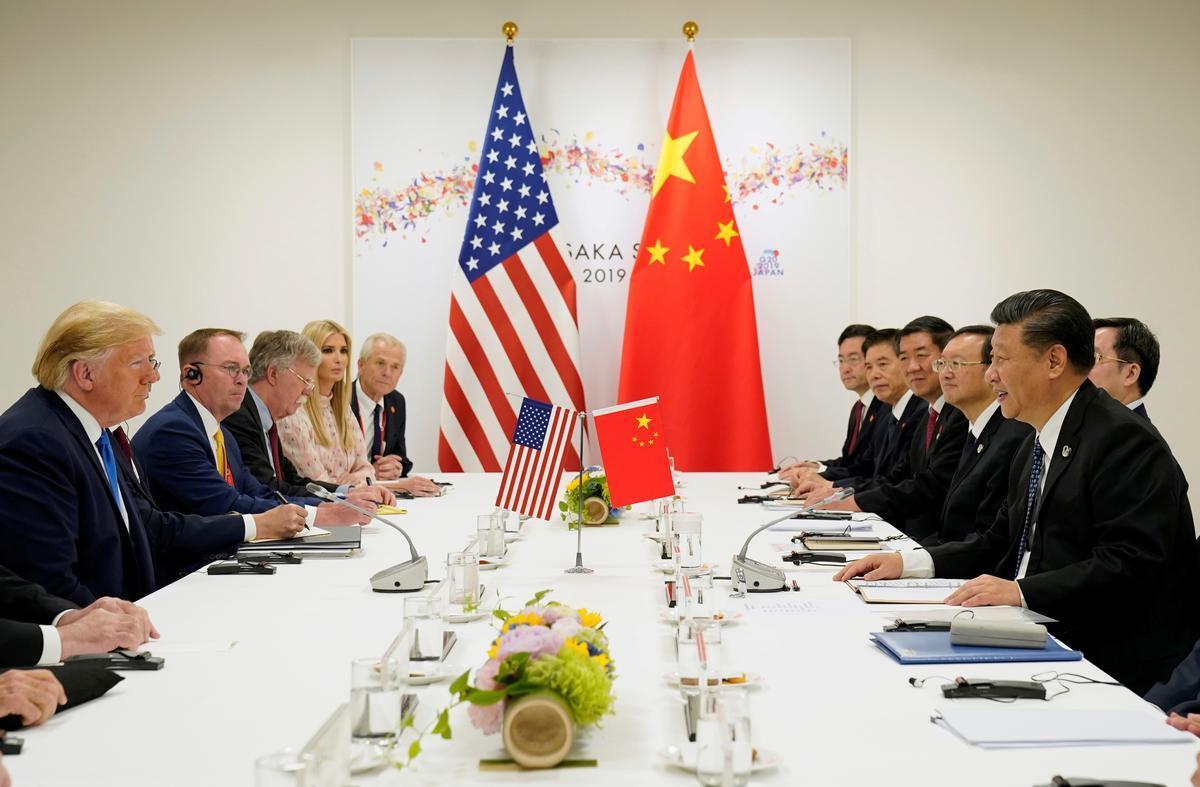 Mỹ,Trung,Mỹ - Trung,cuộc chiến thương mại,chiến tranh thương mại Mỹ - Trung,Donald Trump,thuế,thương mại,kinh tế