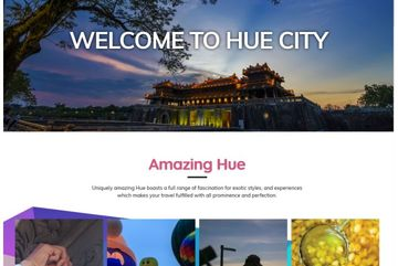 Hue opens tourism portal
