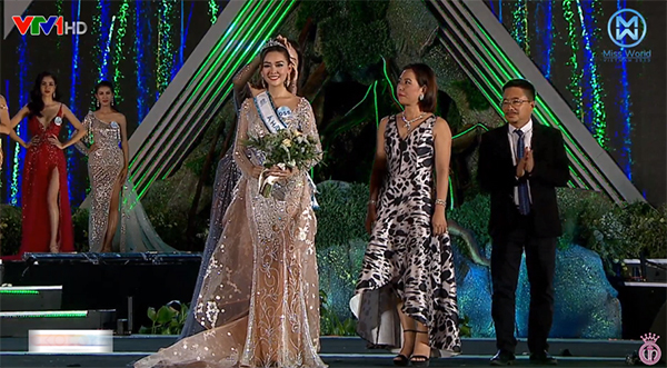 Lương Thuỳ Linh giành vương miện Miss World VietNam 2019