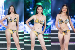 Top 25 Miss World Vietnam 2019 bốc lửa với phần thi bikini