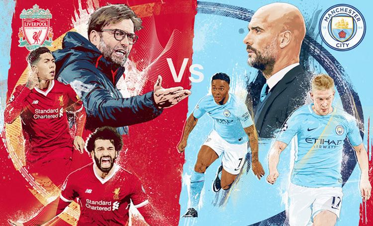Siêu cúp Anh: Man City vs Liverpool long tranh hổ đấu