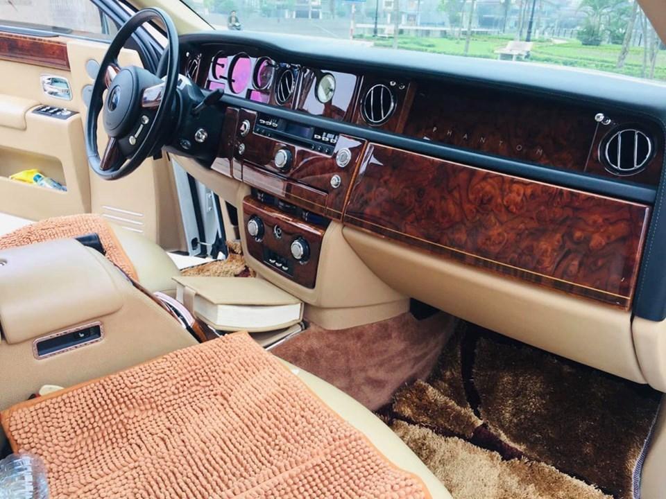 Rolls-Royce Phantom,biển tứ quý 9,Rolls-Royce Phantom mạ vàng,Rolls-Royce Phantom cũ