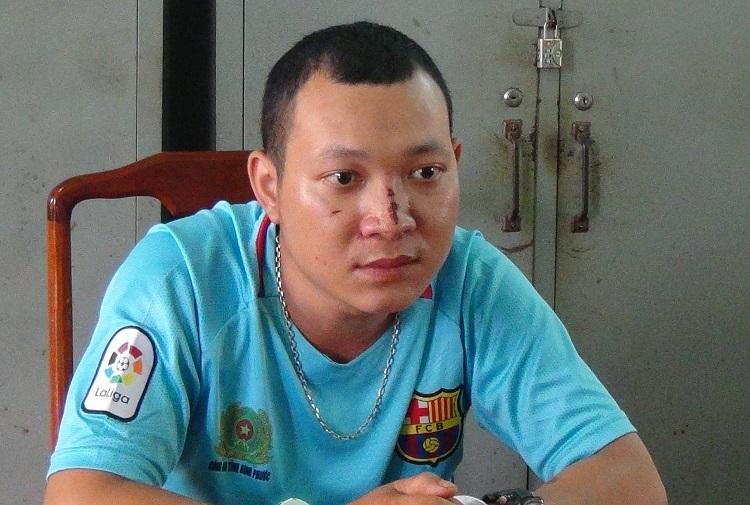 Thanh niên Bình Phước giả CSGT hù dọa lấy tiền người đi đường