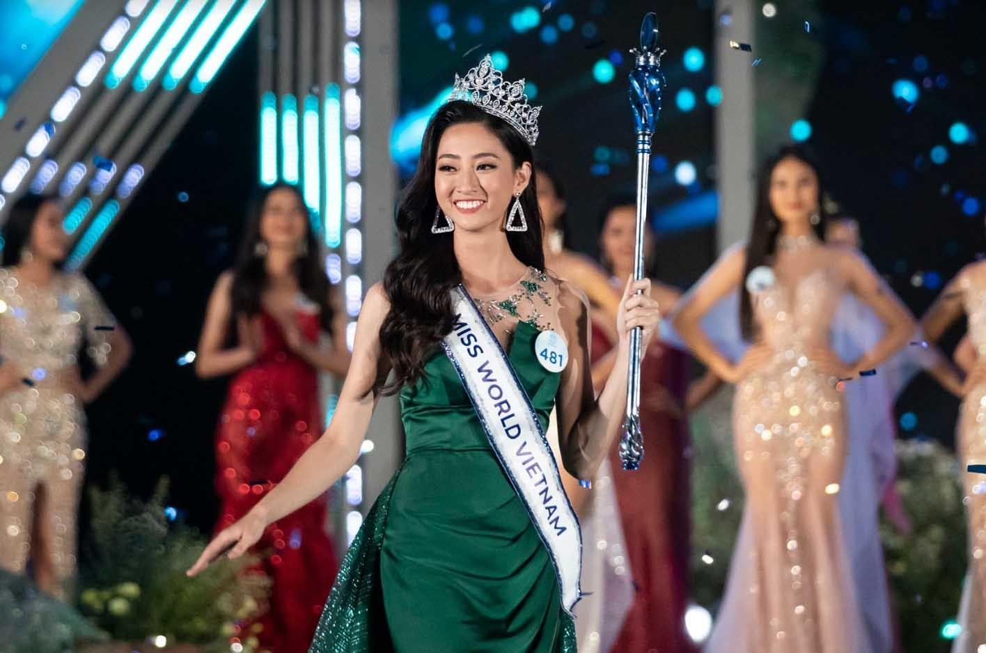 Hoa hậu Lương Thùy Linh,Hoa hậu Thế Giới Việt Nam năm 2019,nữ sinh Trường ĐH Ngoại thương
