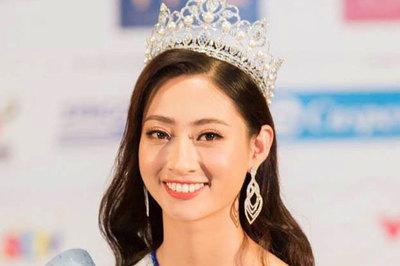 Hoa hậu Lương Thùy Linh: Gia đình tôi bình thường, không mua vương miện