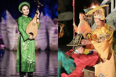 Trung Anh vào vai vua, Bảo Thanh hoá thiếu nữ chơi đàn