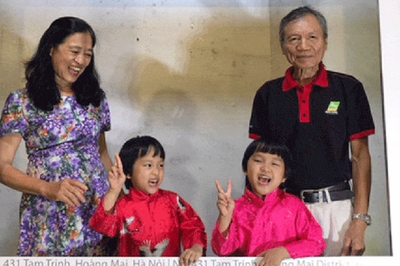 Chồng U70, vợ U60 ở Hà Nội sinh đôi con gái khoẻ mạnh