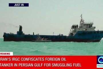 Video Vệ binh cách mạng Iran bắt giữ tàu chở dầu nước ngoài