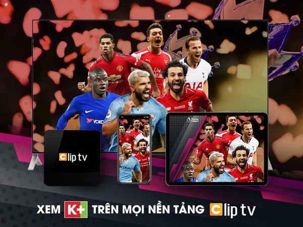 Dễ dàng xem kênh K+ trên SmartTV