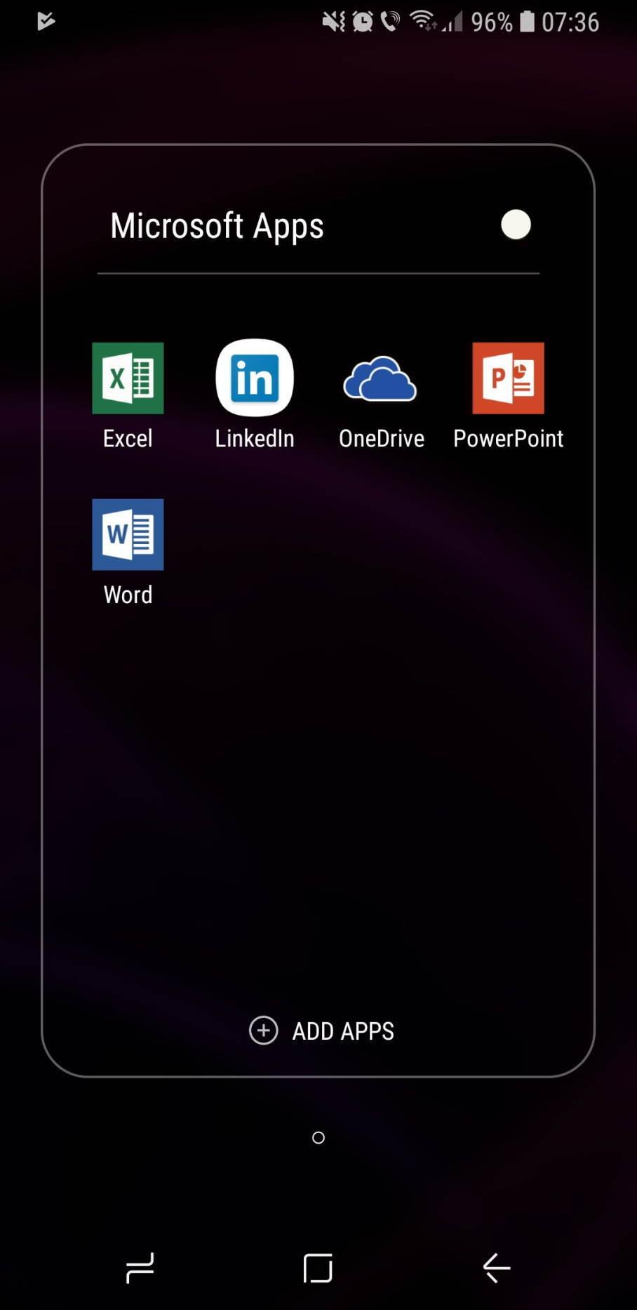 Galaxy Note10 bị cài sẵn hàng loạt ứng dụng của Microsoft
