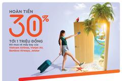 Tiết kiệm đến 30% khi đặt vé máy bay bằng Thẻ tín dụng du lịch MSB Visa