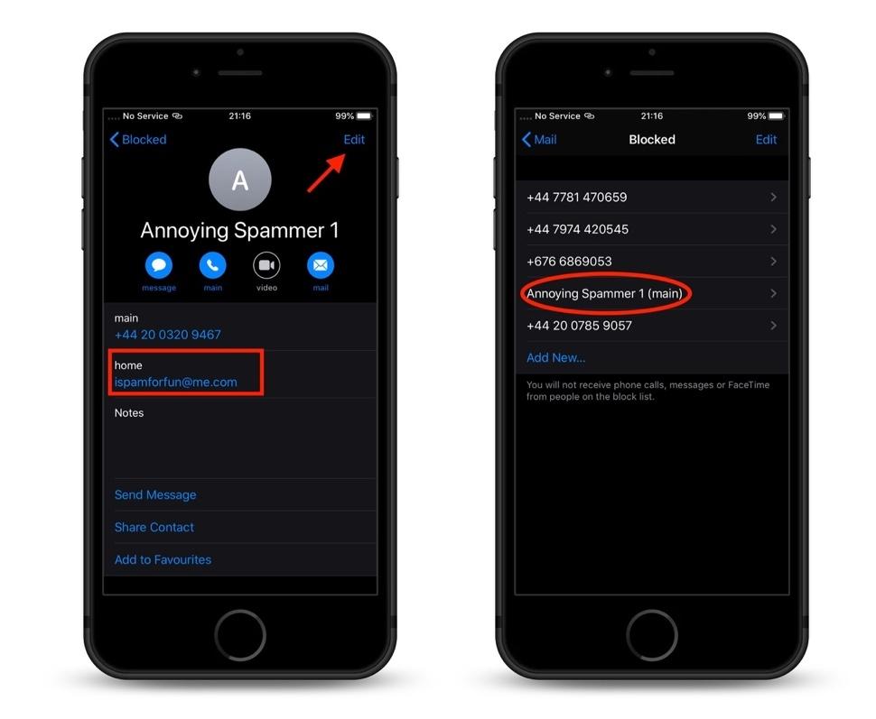 Cách chặn vĩnh viễn email quấy rối trên iOS 13 và iPadOS 13
