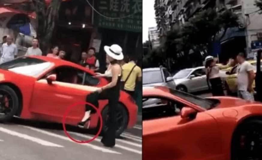 Nữ tài xế bị tát 'cháy mặt' vì cậy chồng làm to, coi thường pháp luật