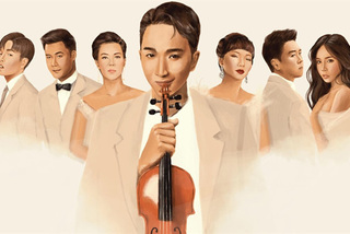 Electrical violinist features famous singers in new album