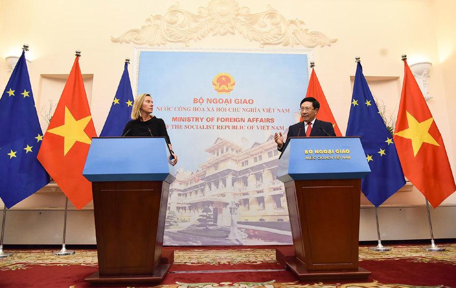 EU ủng hộ tự do hàng hải, hàng không ở Biển Đông