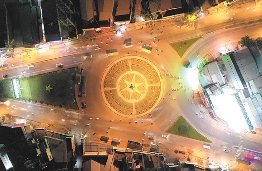 HCM City roundabouts have their owned history