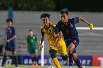 Giật 1 điểm từ Thái Lan, U15 Malaysia đấu U15 Việt Nam ở bán kết