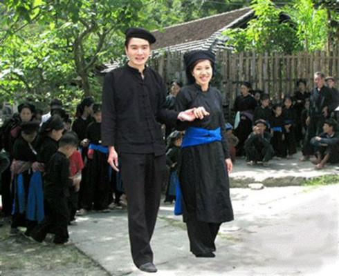 Indigo clothes of the Tay,tay ethnic group,indigo,Vietnamese ethnic groups,Vietnam entertainment news,Vietnam culture,Vietnam tradition