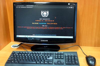 Hacker Phillippines tấn công web Việt Nam, trả đũa việc bị mất Facebook