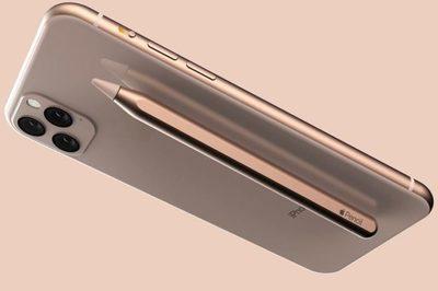 Bút cảm ứng Apple Pencil trên iPhone 11 trông thế nào?