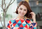 Thuý Ngân mặc áo dài hoạ tiết sặc sỡ khoe dáng ở Nhật Bản