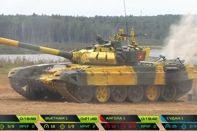 Tank Biathlon 2019: Đội xe tăng Việt Nam đứng nhì bảng trong vòng thi đầu tiên